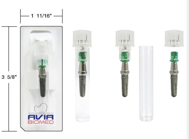 Avia Biomed dental implants